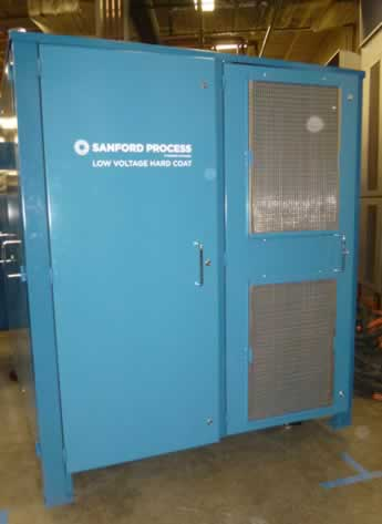Anodizing rectifier – 500 Amp Anodizing Equipment